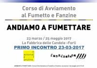Andiamo a Fumettare 2017 - Primo Incontro - Martina Elisa Piacente