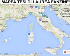 Fanzinoteca d'Italia - Mappatura Tesi di Laurea sulle Fanzine Italiane