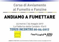 Andiamo a Fumettare 2017 - Terzo Incontro - Martina Elisa Piacente