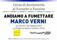 Andiamo a Fumettare 2017 - Quinto Incontro Marco Verni
